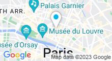 Plan Carte Spa Nuxe Montorgueil à Paris (1er)