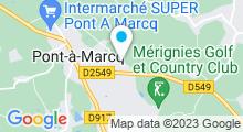 Plan Carte Swimcenter à Pevele - Ennevelin