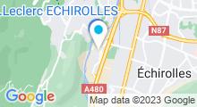Plan Carte Swimcenter à Echirolles