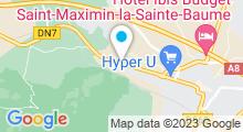 Plan Carte Aquabecool à Saint-Maximin-la-Sainte-Baume