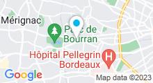 Plan Carte Centre d'aquabiking So-Forme à Mérignac