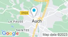 Plan Carte Centre de remise en forme Movida à Auch