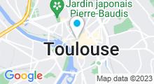Plan Carte Centre de remise en forme Movida Gambetta à Toulouse