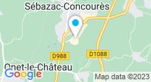 Plan Carte Centre de remise en forme Movida à Rodez