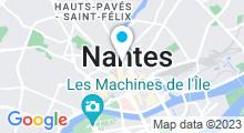 Plan Carte Centre aquatique O35 à Nantes
