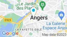 Plan Carte Aquavelo à Angers