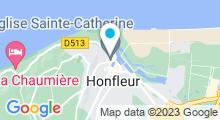 Plan Carte Spa Nuxe Les Maisons de Léa**** à Honfleur