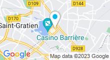 Plan Carte Centre Flore Bike à Enghien les Bains