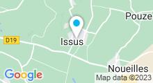Plan Carte La Beauté Cachée à Issus