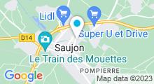 Plan Carte Spa Thermal Philae à Saujon