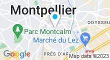 Plan Carte Mezo&Line à Montpellier
