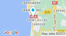 Plan Carte Spa Nuxe de La Réunion à Saint-Gilles-les-Bains