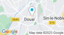 Plan Carte Spa Le Manoir à Douai