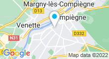 Plan Carte O Spa Detente à Compiègne