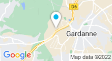 Plan Carte Centre Ovélo à Gardanne