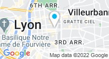Plan Carte Centre O'Forme à Lyon