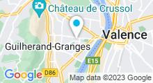 Plan Carte Centre de bien-être Aquavelo à Guilherand-Granges