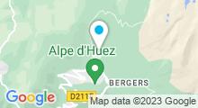 Plan Carte Spa Nuxe Au Chamois d'Or **** à L'Alpe d'Huez