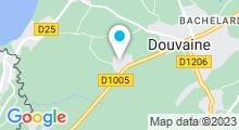Plan Carte Centre Univer'sel à Douvaine