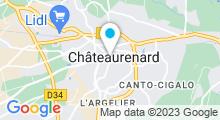 Plan Carte TechniHomeSpa à Châteaurenard