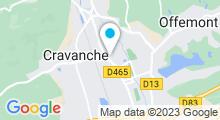 Plan Carte A l'Eau de Rose à Belfort