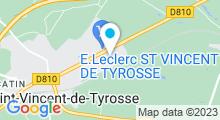 Plan Carte AquaRel-C4MJ à Saint-Vincent-de-Tyrosse