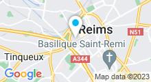 Plan Carte Point Soleil à Reims