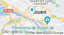 Plan Carte Swimcenter à Rouen