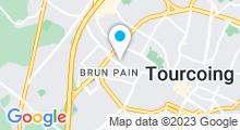 Plan Carte Gites metropole à Tourcoing