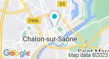 Plan Carte Le Hammam de Yasmine à Châlon-Sur-Saône