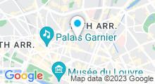 Plan Carte Spa Nuxe de l'Hôtel de Nell***** (Paris 9ème)