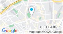 Plan Carte Spa Nuxe Terrass' Hôtel (Paris 18ème)