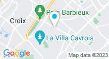 Plan Carte Zeïn Oriental Spa à Roubaix-Barbieux