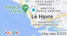 Plan Carte Spa Nuxe de l'Hôtel Vent d'Ouest**** au Havre