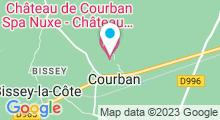 Plan Carte Spa Nuxe au Château de Courban****