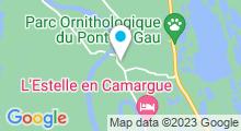 Plan Carte Spa Nuxe de l'Hôtel Mas de la Fouque**** à Saintes-Maries-de-la-Mer