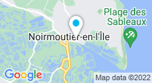 Plan Carte Spa Nuxe de l'Hôtel Général d'Elbée**** à Noirmoutier-en-Île