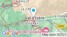 Plan Carte Spa Nuxe de l'Hôtel le Yule***** à Val d'Isère