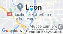 Plan Carte Spa Osmose à Lyon