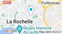 Plan Carte Atlantonic Studio à La Rochelle