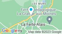Plan Carte Bellissim' à Cerny