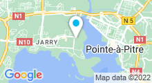 Plan Carte Centre Waterbike Village de Jarry à Baie Mahault