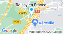 Plan Carte Novotel Convention & Wellness**** à Roissy-en-France