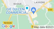 Plan Carte Océania Club à Saint-Pierre-du-Mont