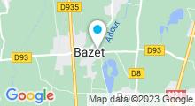 Plan Carte Spa Kiné Lounge à Bazet