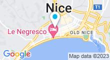 Plan Carte Spa Splendid à Nice