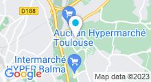 Plan Carte Swimcenter à Balma-Gramont