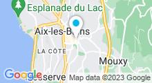 Plan Carte Thermes de Marlioz à Aix-Les-Bains