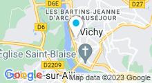 Plan Carte Thermes Callou à Vichy