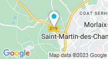 Plan Carte Spa urbain Passage Bleu à Saint-Martin-des-Champs
